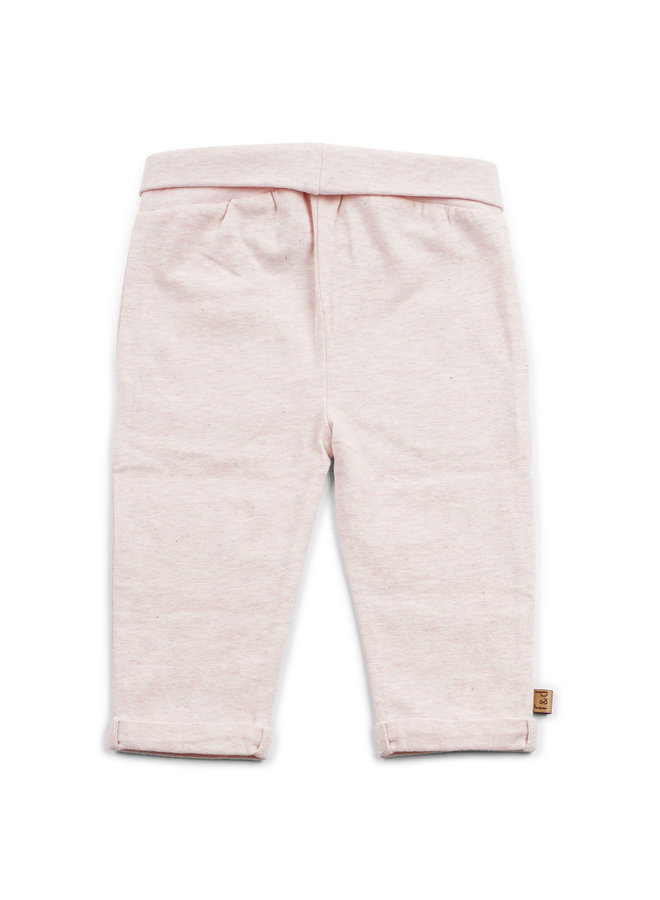 F&D NB Basic Pants Off White Melange