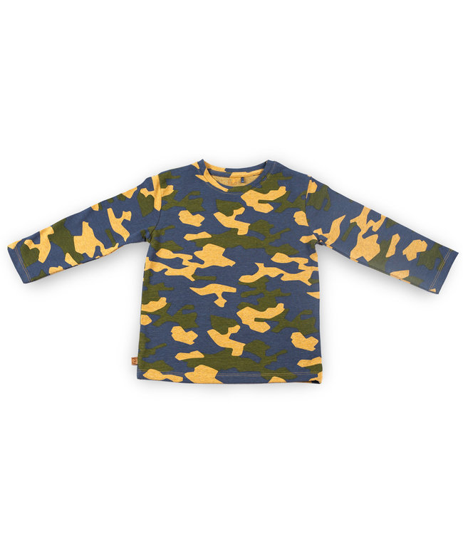 """Frogs and Dogs F&D NB Shirt  """" Camo """""""