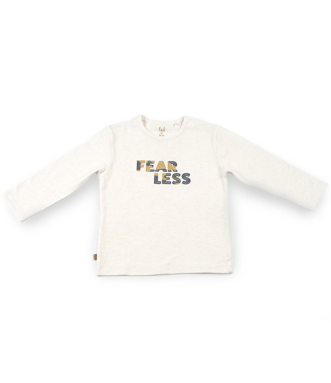 """Frogs and Dogs F&D NB Basic Shirt Fearless Off White Melange """" Camo """""""