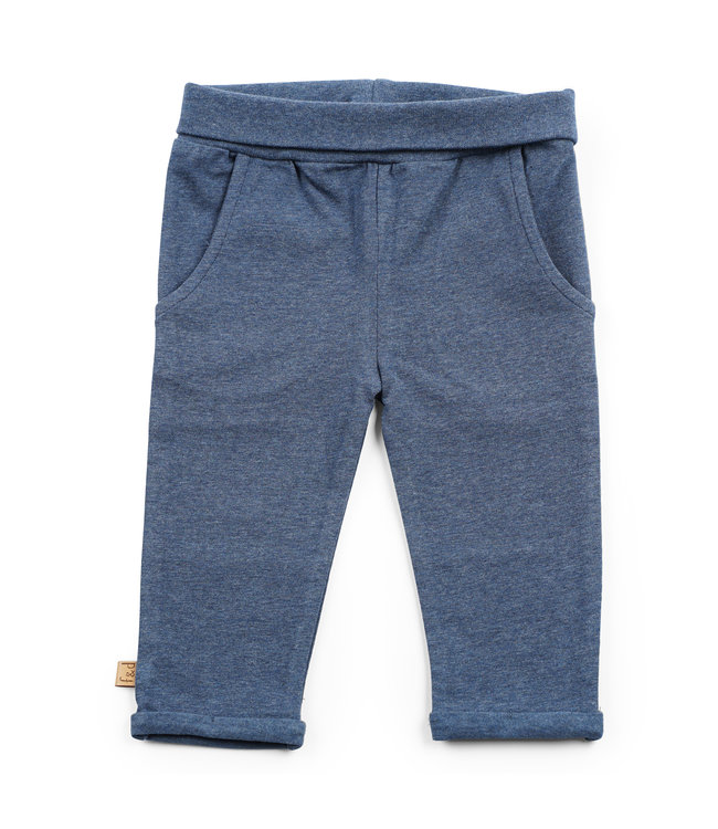 """Frogs and Dogs F&D NB Basic Pants Navy Melange """" Camo """""""