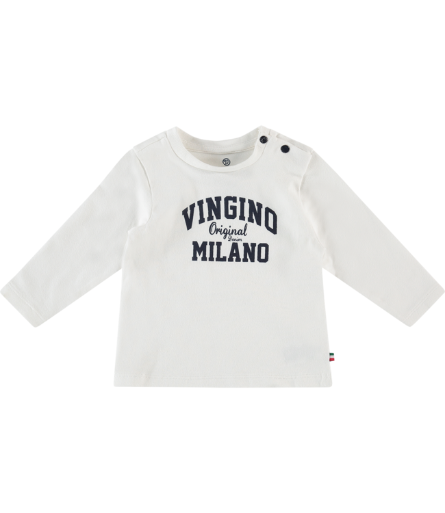 Vingino T-shirt l/m Jay baby - Real White