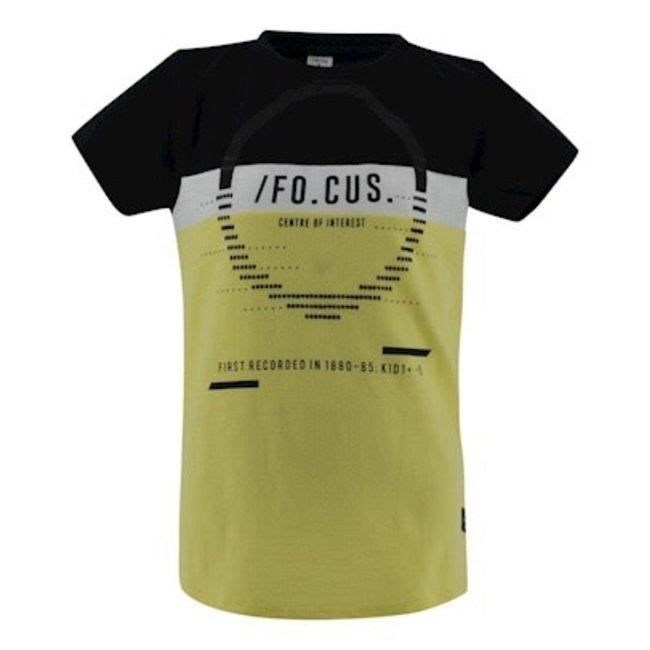 Kiddo T-shirt Samson - Black / Lemon