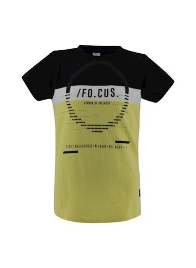 T-shirt Samson - Black / Lemon