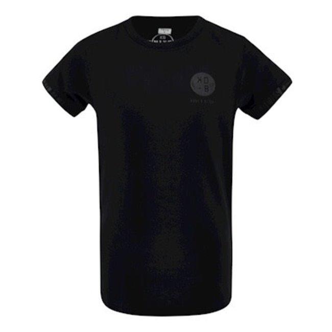 Kiddo T-shirt Theo - Zwart
