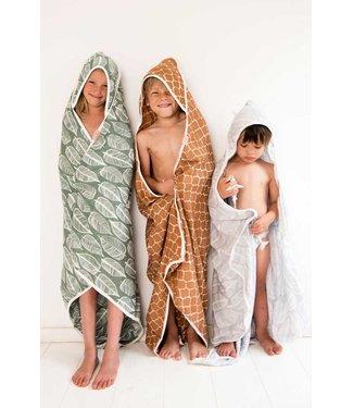 Witlof voor kids Badcape / omslagdoek