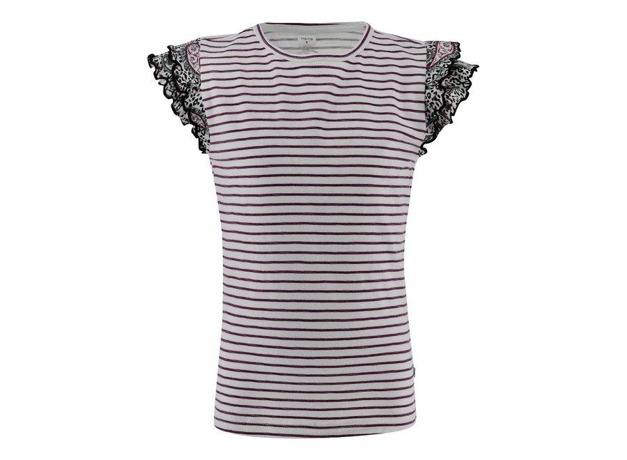 T-shirt Lissy - streep