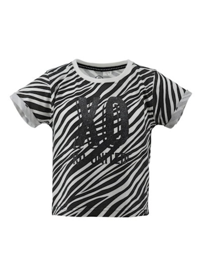 T-shirt Els - streep