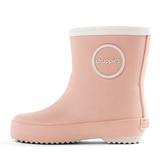 Druppies newborn boot roze