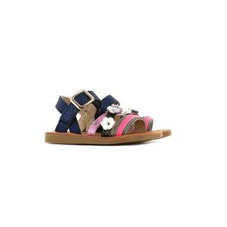 Shoesme Sandaal Blue Snake Pink