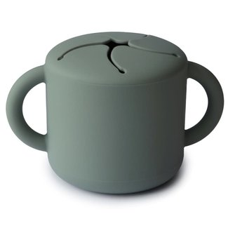 Mushie Silone snack cup