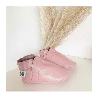 Baby Dutch Slofjes effen roze