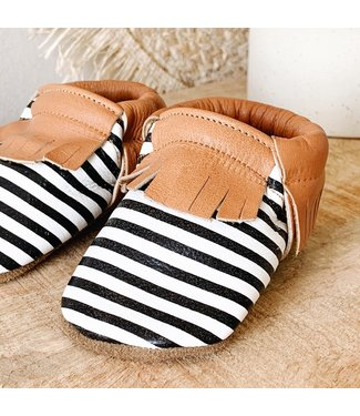 Baby Dutch Slofjes stripes