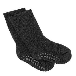 Go baby go Anti slip sokken grey melange