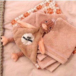 Les Déglingos Doudou Baby Pomelos the ostrich