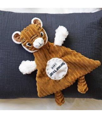 Les Déglingos Doudou Baby Speculos the tiger