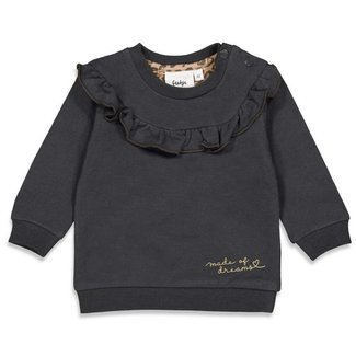 Feetje-baby Sweater - Made Of Dreams - Antraciet