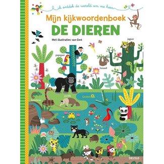 Uitgeverij Deltas Mijn kijkwoordenboek - De dieren