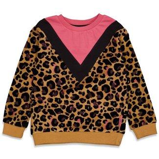 Jubel Sweater AOP - Forever Wild - Geel