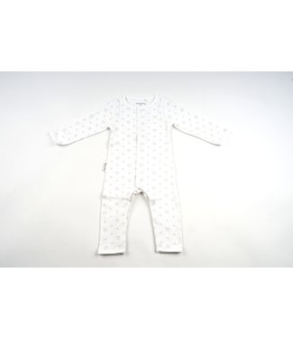 Frogs and Dogs Onesie White