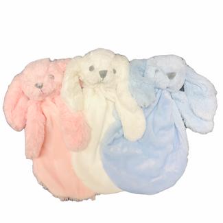 Soft Touch Knuffeldoekje konijn pluche 27 cm