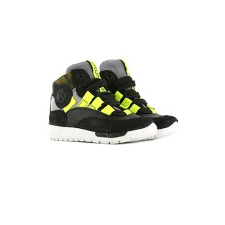 Shoesme Sneakers black grey Yellow