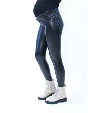 Love2Wait Legging lederlook black
