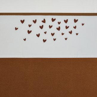 """Meyco Wieg of ledikant laken """" hearts """""""