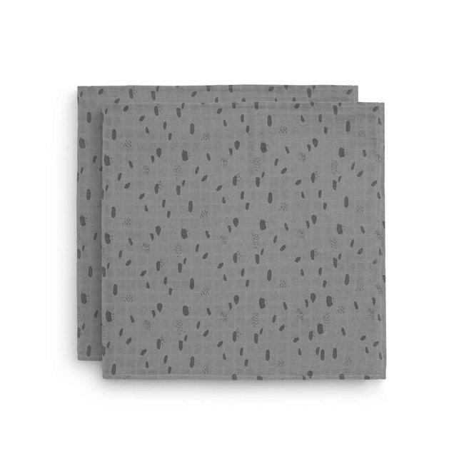 Jollein Hydrofiel Multidoek Spot 115x115cm  2 stuks - 2 kleuren