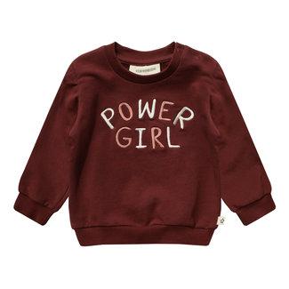 Your Wishes Sweater Girl Power Bentley - Brick
