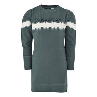 Kiddo Dress Roos - Urban Green Tie Dye