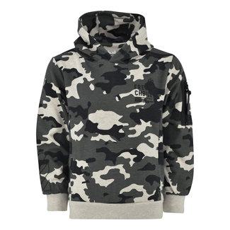 Kiddo Sweater Hoodie Gert - Camo