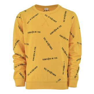 Kiddo Sweater Karel - Citrus Text