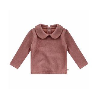 Your Wishes Shirt met kraagje Nadine - Mauve ( roze )