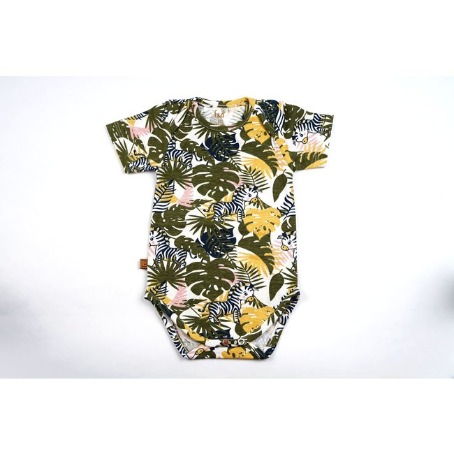Frogs and Dogs NB Romper Lemon Of Jungle