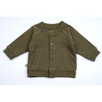 Frogs and Dogs NB Double Fabric Jacket Khaki Melange