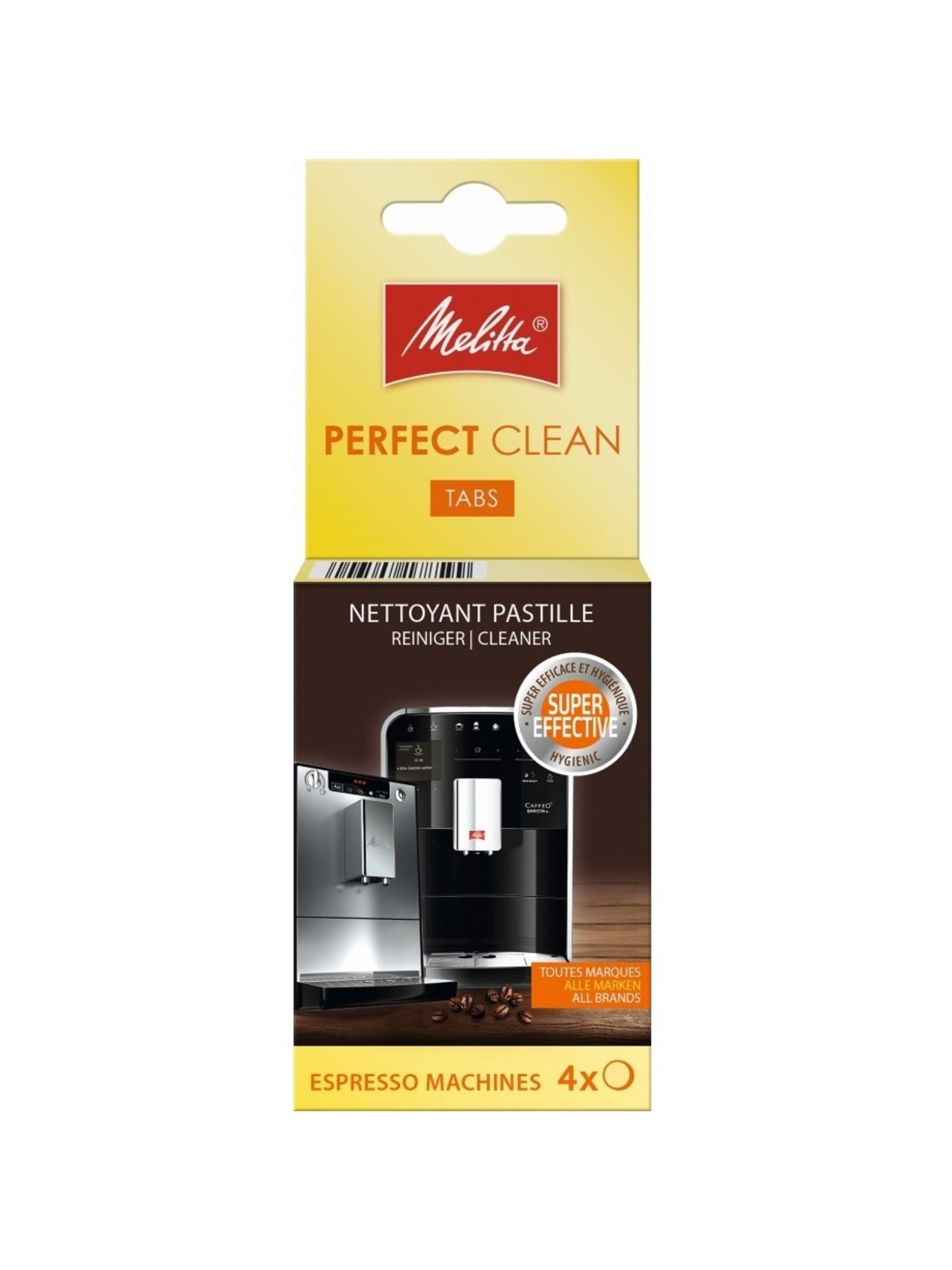 MELITTA Perfect Clean Cleaning Tablets (4 pcs)