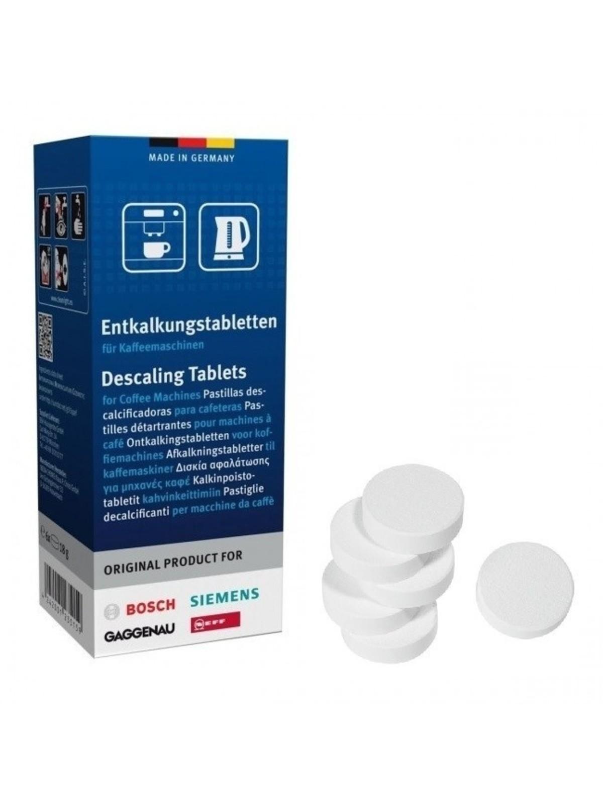 SIEMENS BOSCH Descaling Tablets (6 pcs)