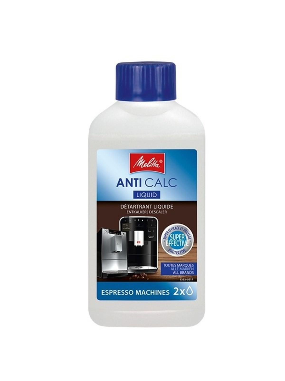 MELITTA AntiCalc Liquid for Espresso Machines (250ml)