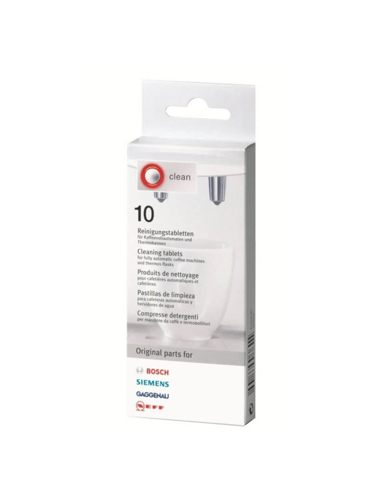 BOSCH Cleaning Tablets (10 pcs)