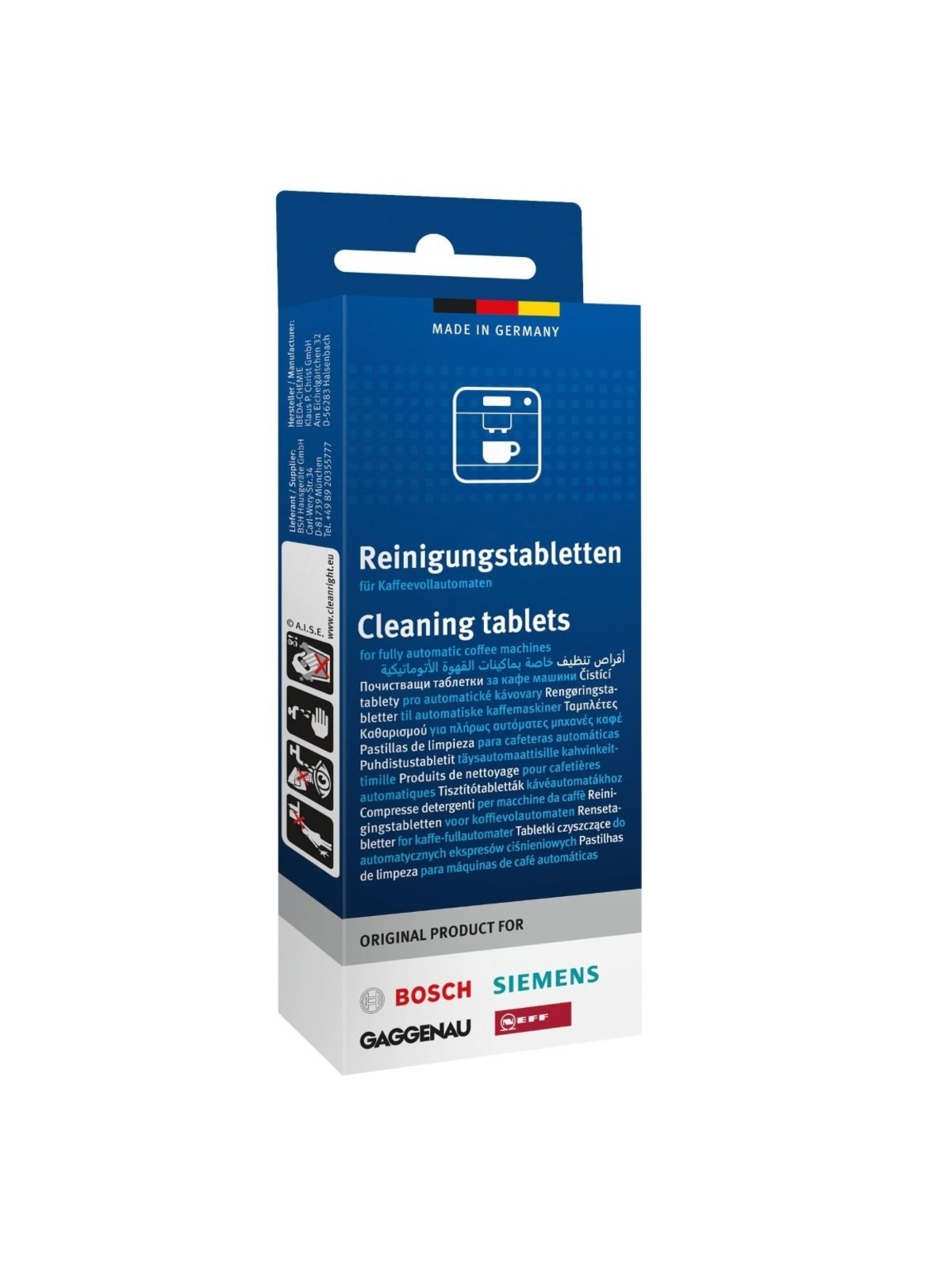 SIEMENS BOSCH Cleaning Tablets