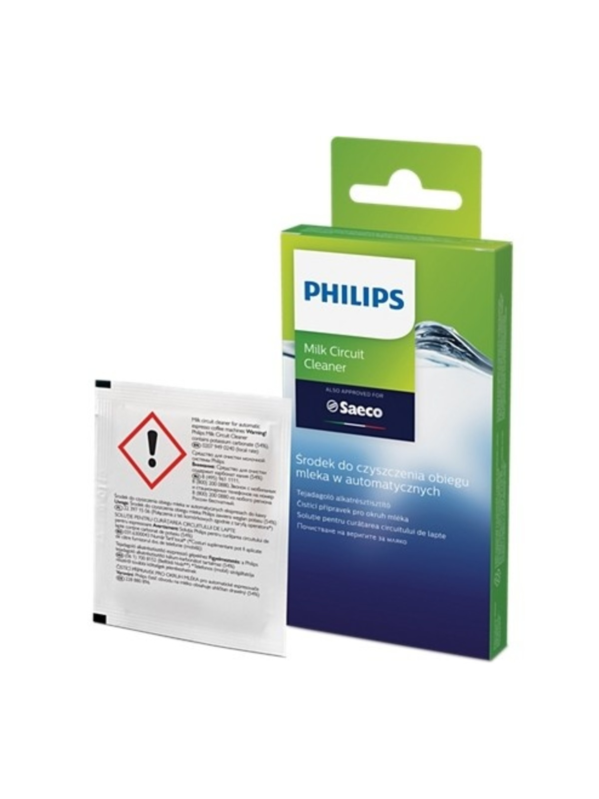 PHILIPS SAECO Cleaning Powder for Milk Circuits (6 pcs)