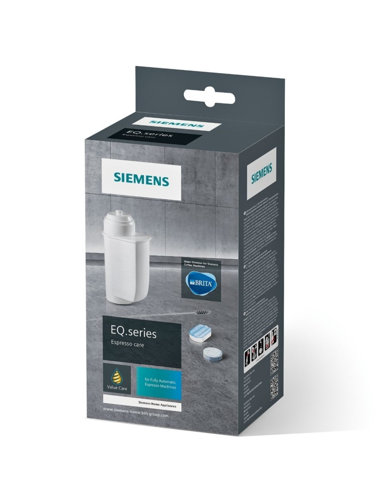SIEMENS EQ Series - Clean and Care set