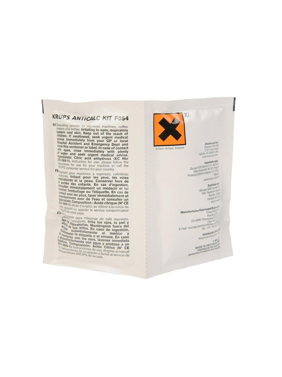 KRUPS Koffiemachineontkalker F054001B