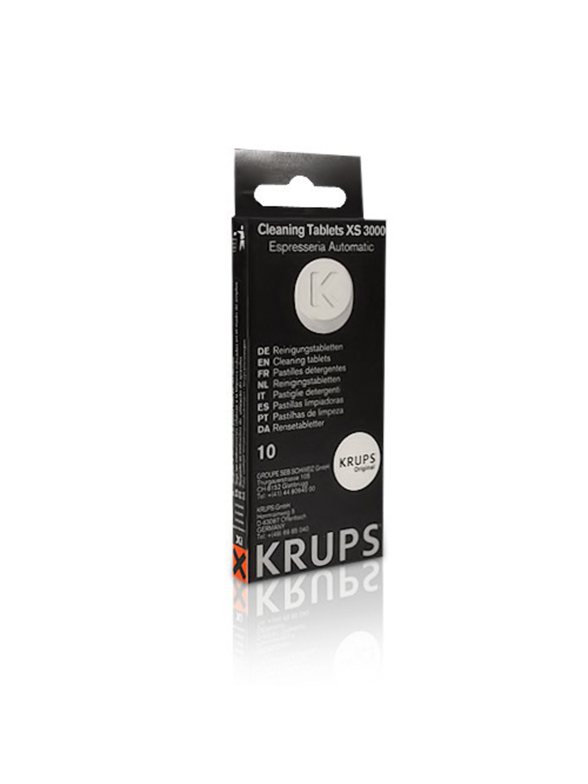 KRUPS Reinigingstabletten XS3000 - 10 stuks