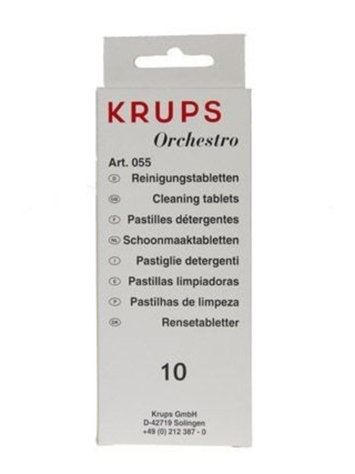 KRUPS Reinigingstabletten F055 - 10 stuks