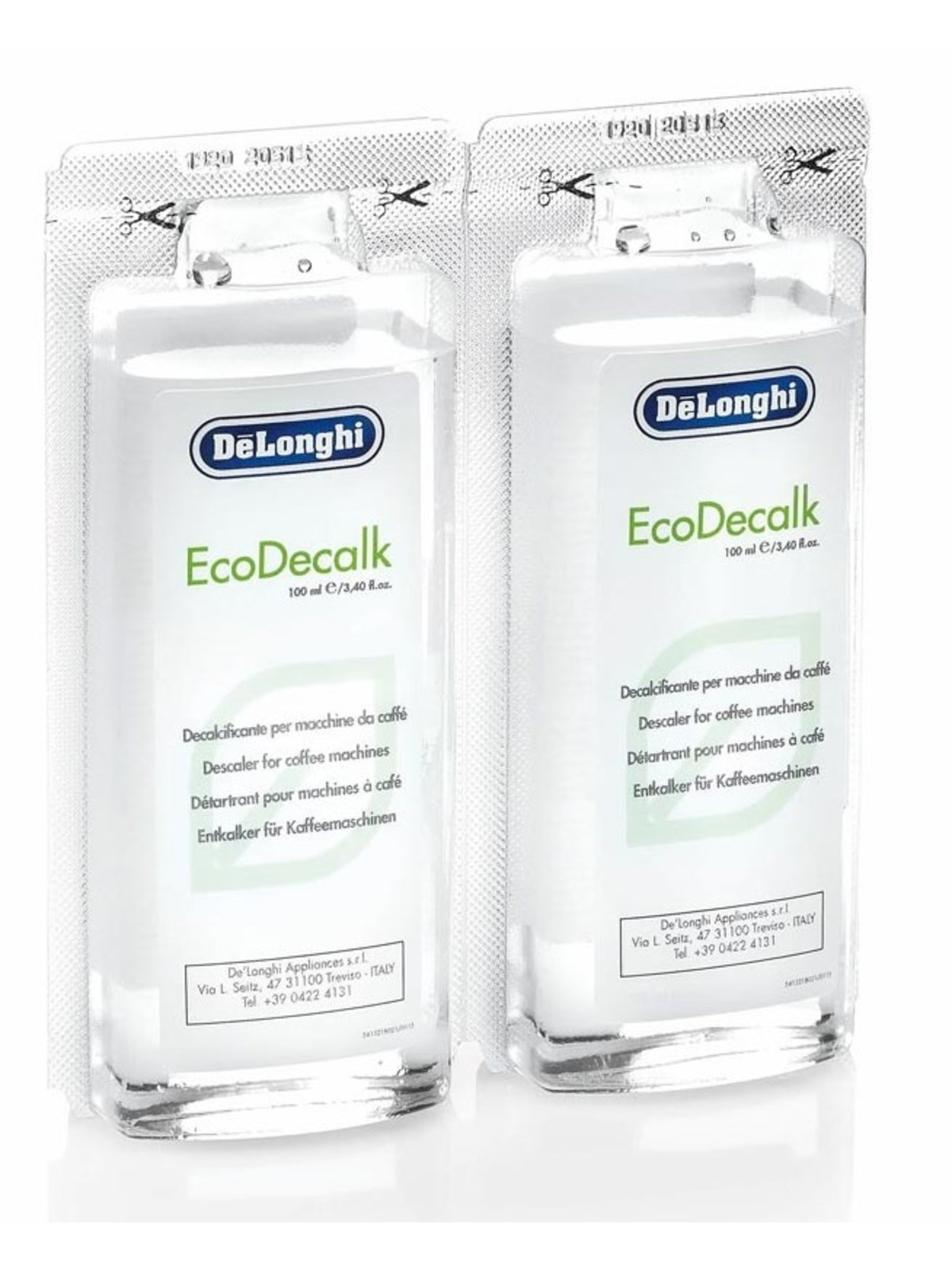 DELONGHI EcoDecalk Mini - 2x100ml