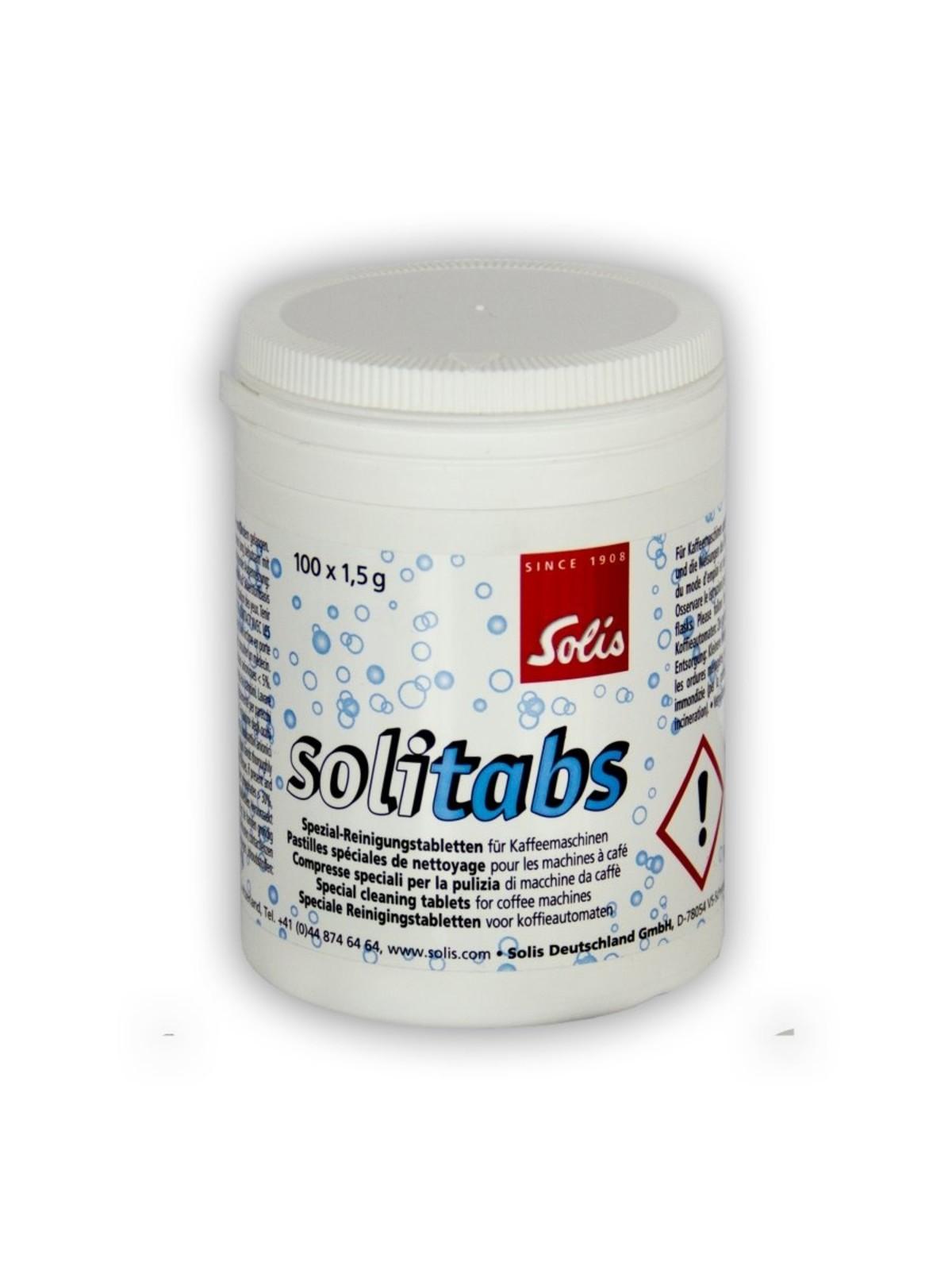 SOLIS Solitabs Reinigingstabletten - 100 stuks