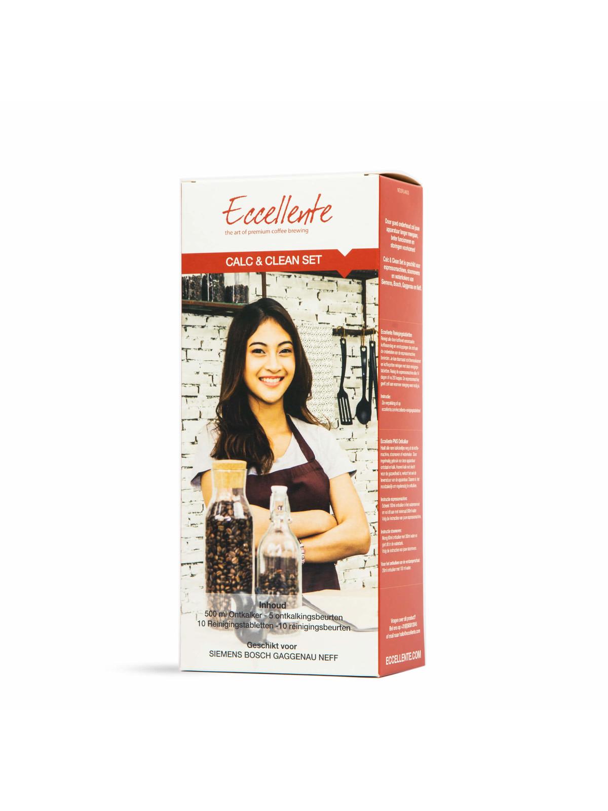 ECCELLENTE Vloeibare Ontkalker voor Gaggenau koffiemachine en stoomoven