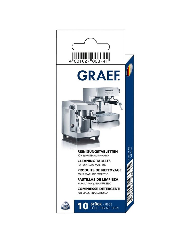 GRAEF Reinigingstabletten 10 stuks