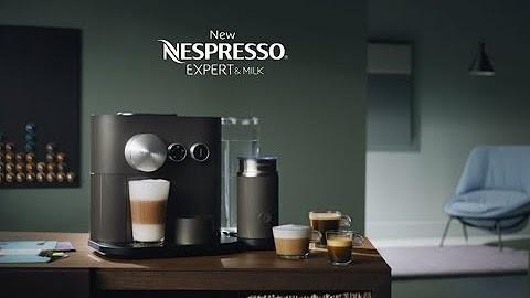 Handleiding - Ontkalken van een Nespresso Expert & Milk
